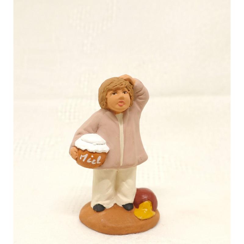 Enfant au pot de miel 6cm