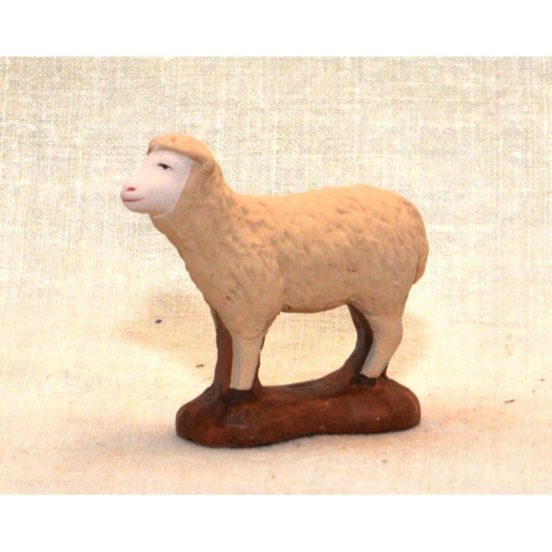 Mouton tête en l air 9cm