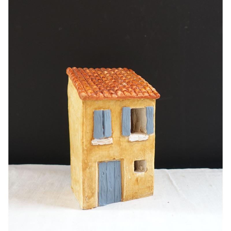 Maison village santons 4 cm