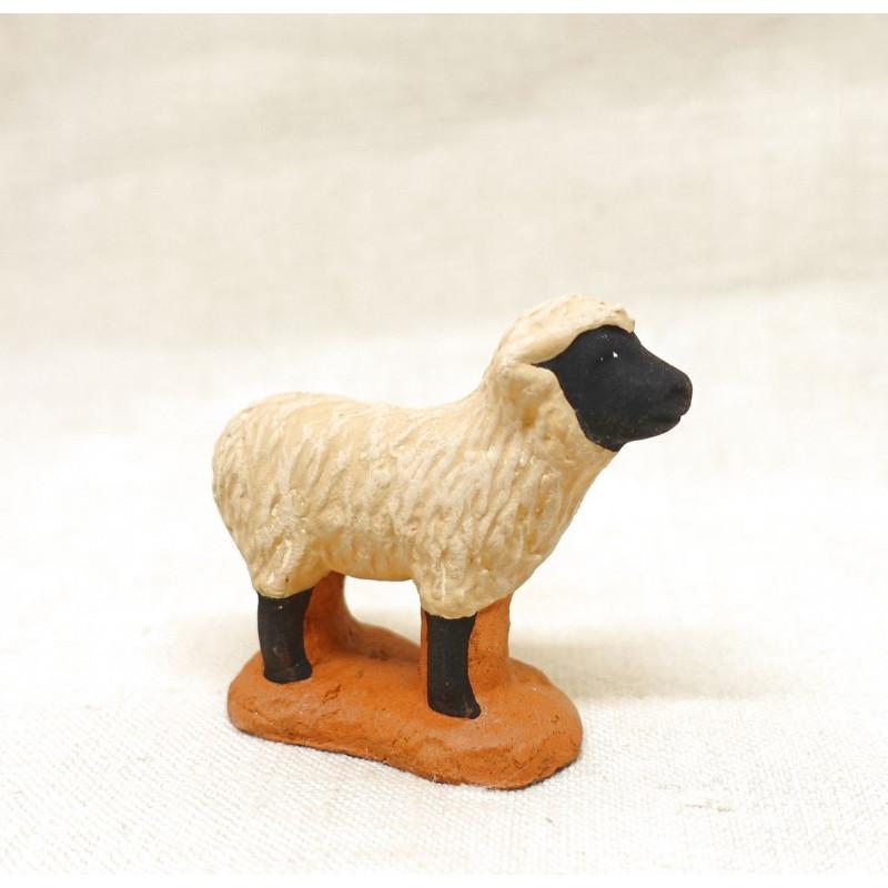Santon mouton black face 6- 7cm